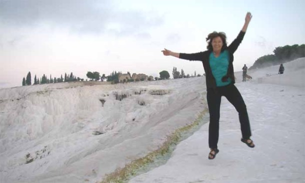 Jumping for Joy, Pammukale Turkey