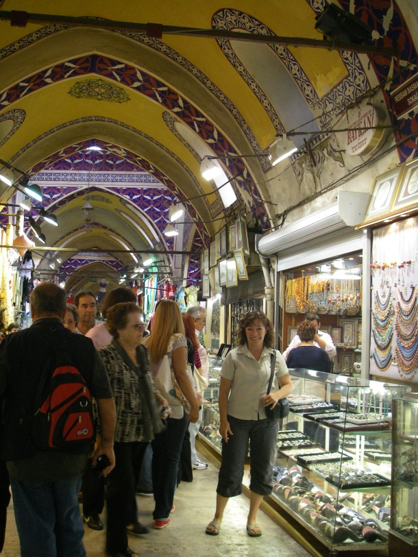 Grand Bazaar Istanbul, I'm so at home!