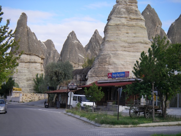 Goreme Cappodocia, Turkey. If there were a lake or ocean I would move here!