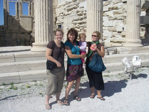 The girls at Acropolis