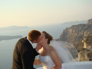 Courtney and Cody's Santorini Wedding