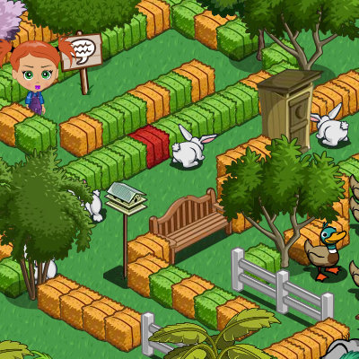 farmville labyrinth
